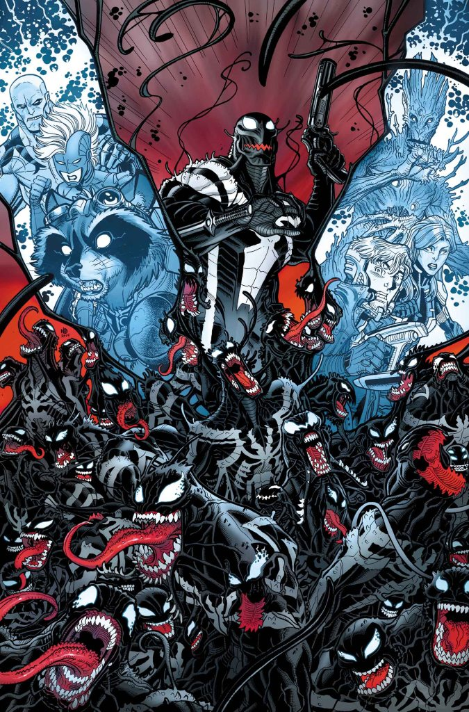 Ok, I can buy into this issue with the symbiotes. I REALLY hope Groot catches one.